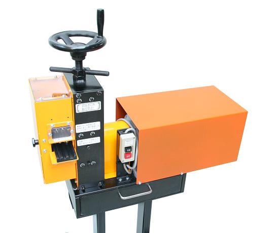 トミテックの電線皮剥き機「ワイヤーコートオートカッター」
